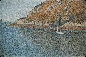 Paul Signac - Port of Saint-Cast (detail)