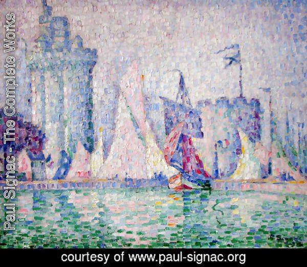 Paul Signac - The port of La Rochelle