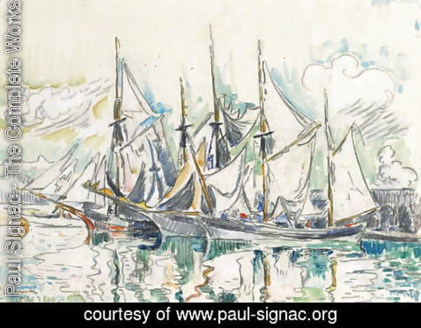 Paul Signac - Antibes 2