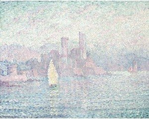 Paul Signac - Antibes, Matin