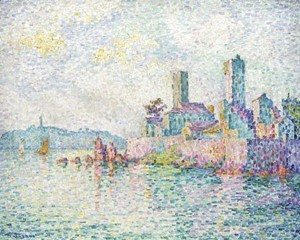 Paul Signac - Antibes. Les tours