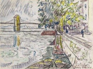 Paul Signac - Bourg-Saint-Andeol