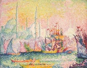 Paul Signac - Constantinople (Corne d'Or)