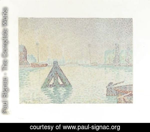 Paul Signac - En Hollande--La Balise