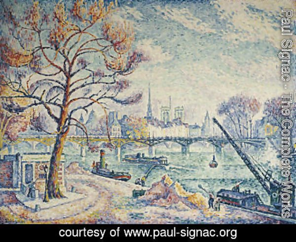 Paul Signac - Pont des Arts (Paris)
