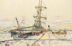 Paul Signac - Port d'Ajaccio