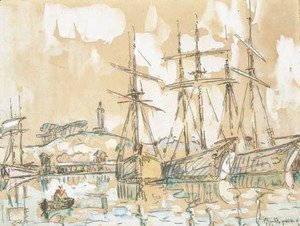 Paul Signac - Port de Paimpol