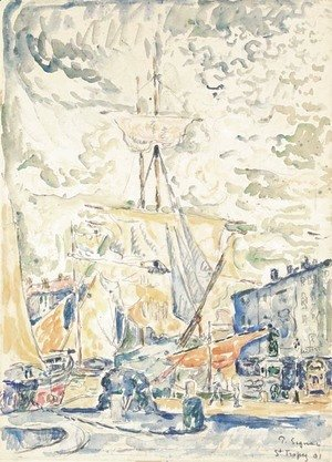 Paul Signac - Saint Tropez 3
