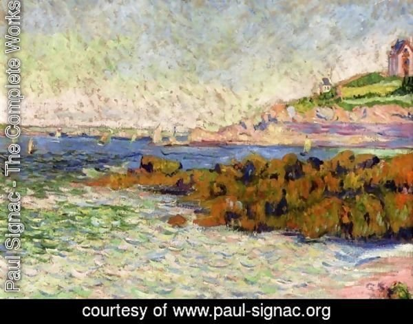 Paul Signac - Saint-Briac, la balise Le Cheval