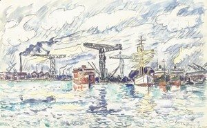 Paul Signac - Saint-Nazaire