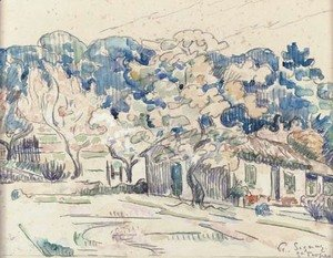 Paul Signac - Saint-Tropez 5