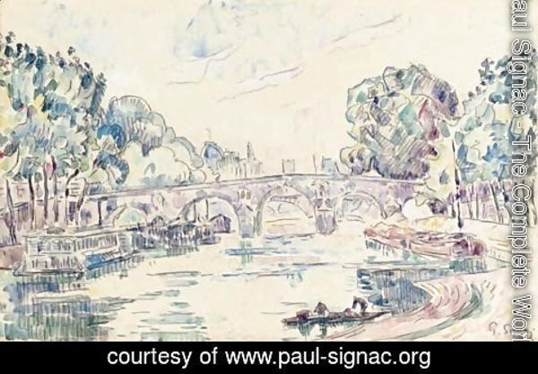 Paul Signac - Vue de Paris