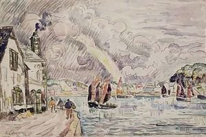 Paul Signac - Audierne