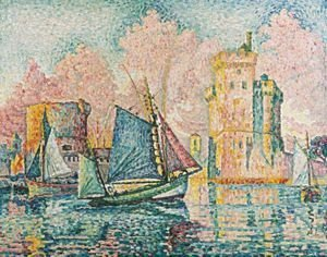 Paul Signac - Le Thonier Entrant A La Rochelle (Couchant)