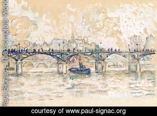 Paul Signac - L'Ile De La Cite, Paris