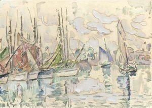 Paul Signac - Sables, Le Port