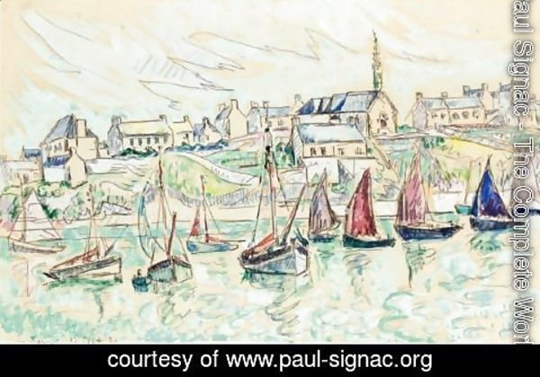 Paul Signac - Audierne 2