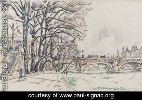 Paul Signac - Paris, La Seine 2