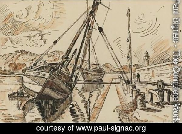 Paul Signac - Saint Tropez 4