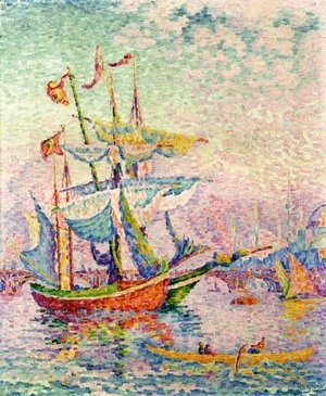 Paul Signac - La Corne D'Or.  Le Pont