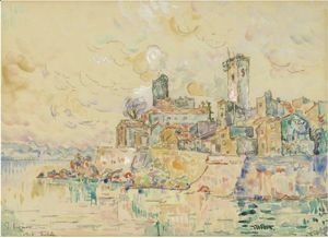 Paul Signac - Antibes 3