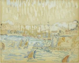 Paul Signac - Port De Marseille