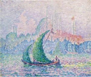 Paul Signac - La Corne D'Or. La Suleimanie
