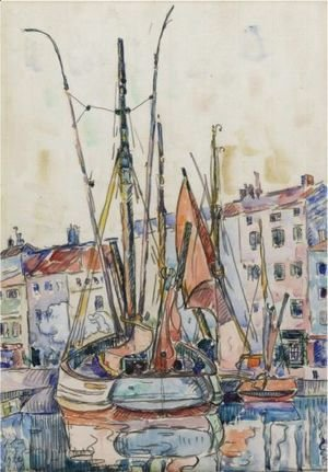 Paul Signac - Port De La Rochelle 2