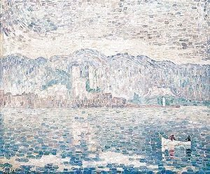 Paul Signac - Antibes, temps gris