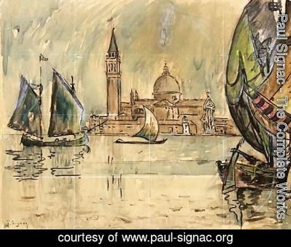Paul Signac - Venise Saint-Georges