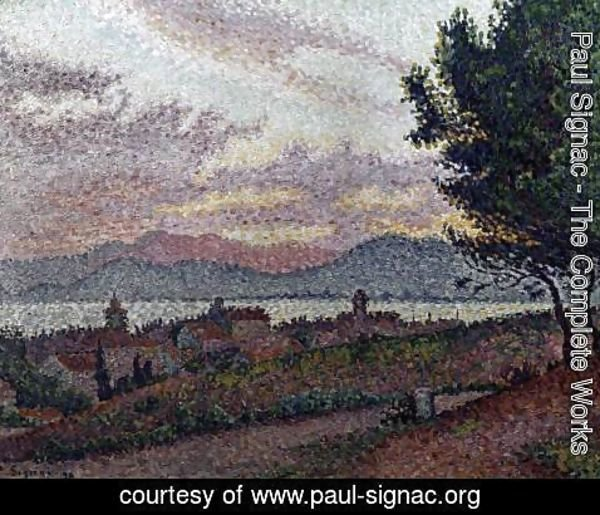 Paul Signac - View of Saint-Tropez