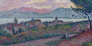 View of Saint-Tropez (detail)