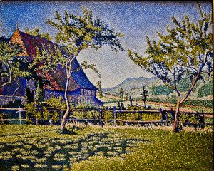 Paul Signac - Comblat Castle, The Pre