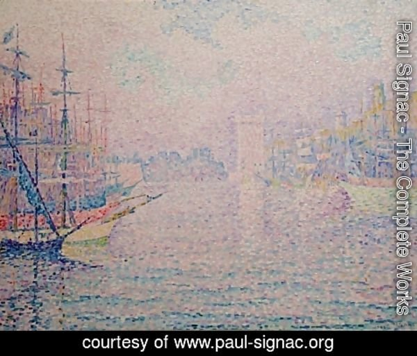 Paul Signac - Marseille, an Old Port