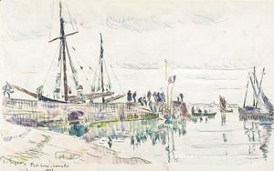 Paul Signac - Port Louis Lomalo