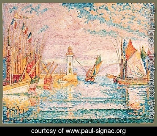 Paul Signac - Lighthouse Groix