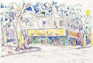 Paul Signac - Van Goghs House In Arles