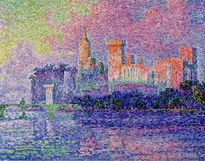 Paul Signac - The Papal Palace Avignon