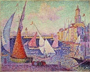 Paul Signac - Port St  Tropez