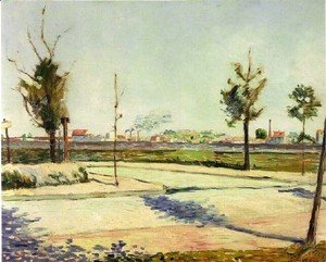 Paul Signac - Road To Gennevilliers