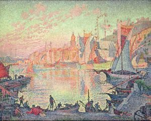 Paul Signac - The Port Of Saint Tropez
