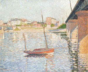 Paul Signac - River Scene