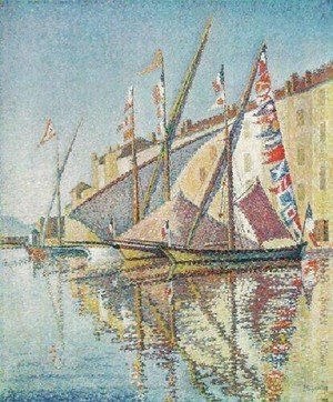 Paul Signac - Port Of St Tropez